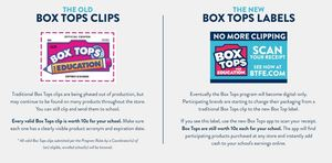 Box Tops are going high tech!