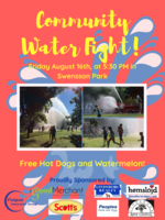 Community Water Fight