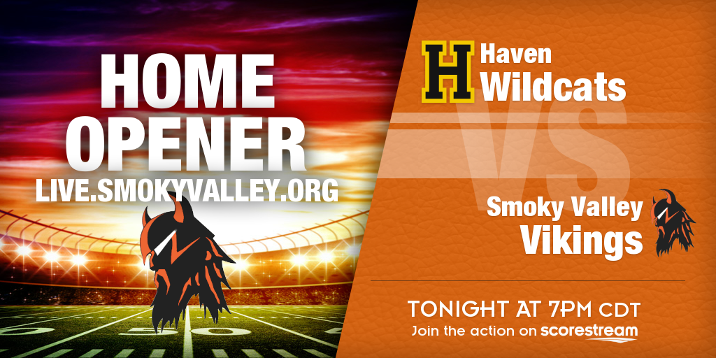 Smoky Valley vs Haven at 7PM