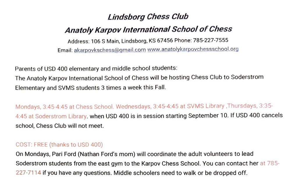 Chess Information