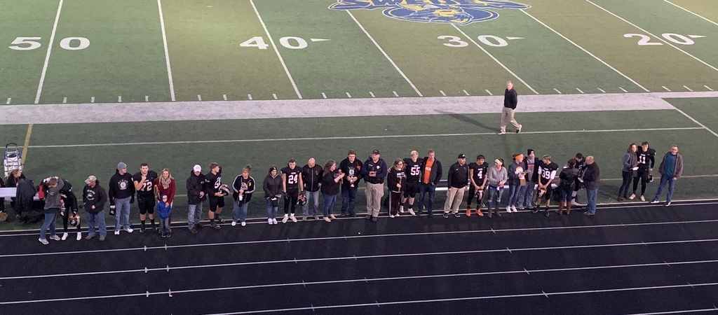 Football Seniors and Parents